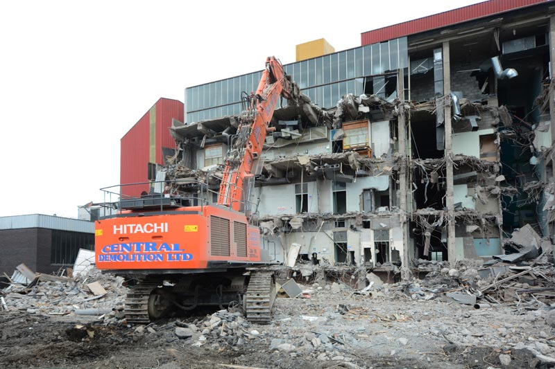 BASF, Paisley, demolition, asbestos removal