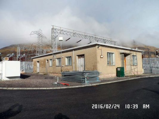 Dalmally, sub station, demolition, asbestos removal