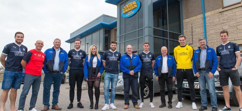 Falkirk FC, Central Demolition,, Shirt sponsor, bonnybridge