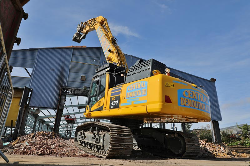 demolition, recycling, asbestos removal, central demolition, edinburgh, falkirk, scotland